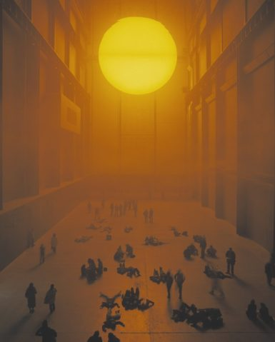 Olafur Eliasson, The Weather Project, 2003. ©2019 TATE/MARCUS LEITH AND ANDREW DUNKLEY