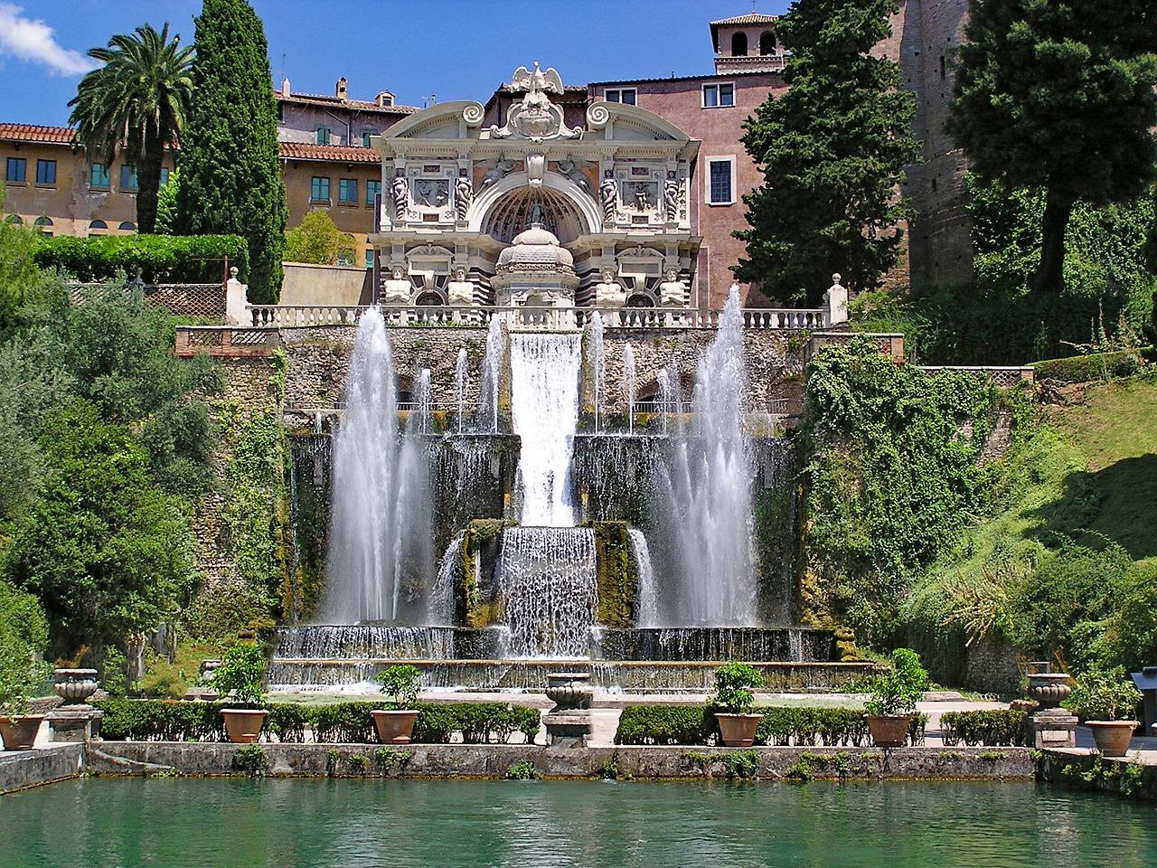 Villa d'Este a Tivoli: meraviglia di arte e giochi d'acqua