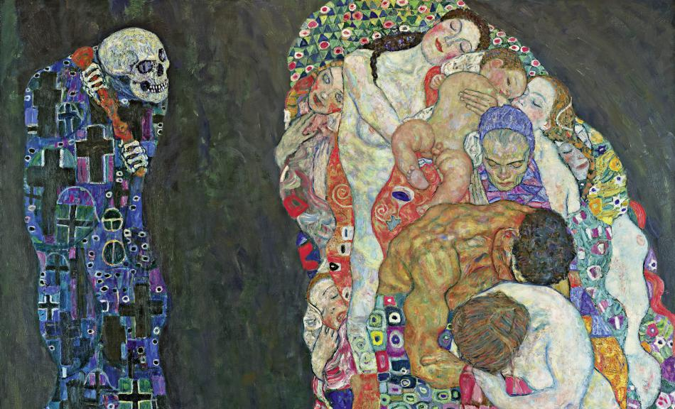 Gustav Klimt - Morte e vita, 1910-11 Photo Leopold Museum, Vienna-Manfred Thumberger