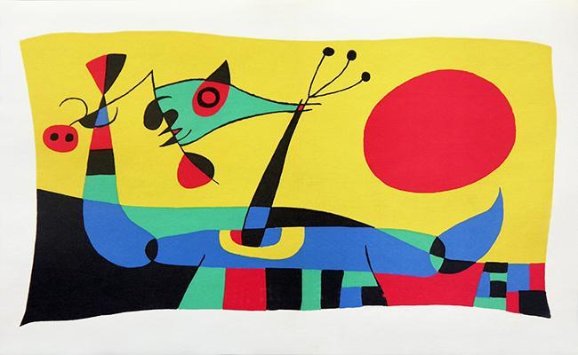 Tutta la magia del colore: Mirò inedito in mostra a Napoli