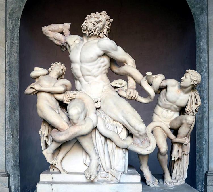 Agesandro, Atanodoro di Rodi e Polidoro, Gruppo del Laocoonte