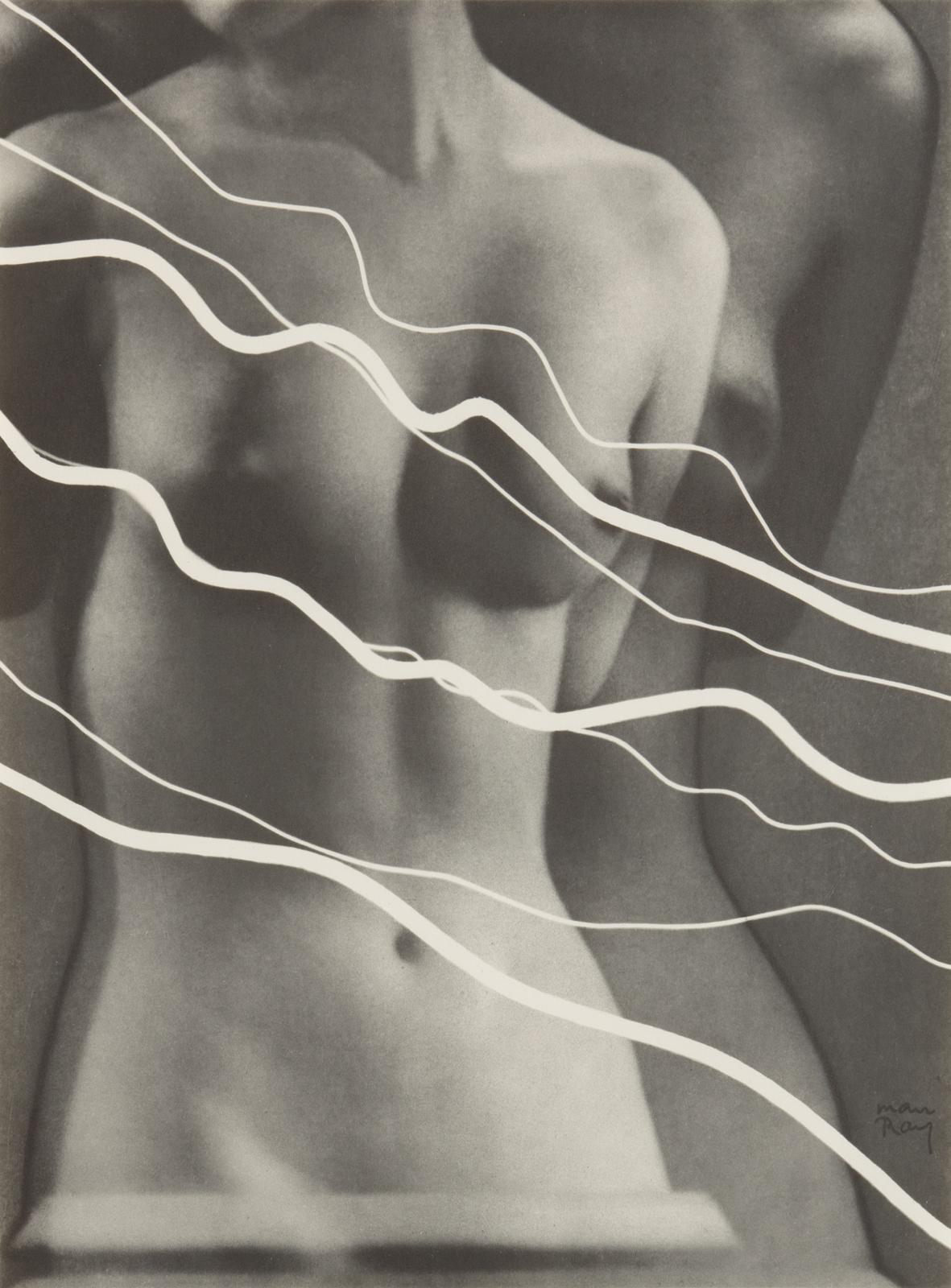 Man Ray. Electricité, 1931. Portfolio di 10 rayografie. Cm 52 x 42 x 2. Courtesy Collezione Fondazione MAST © Man Ray Trust by SIAE 2019.