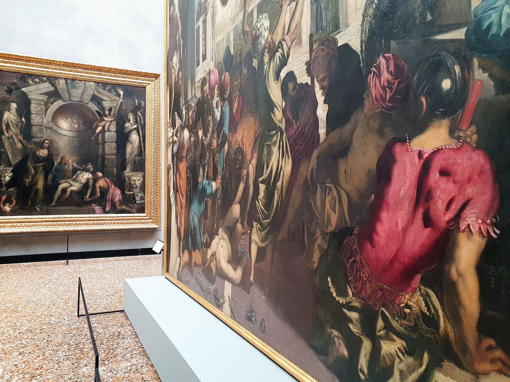 Nuovo allestimento della pittura del 500 alle Gallerie dell'Accademia di Venezia
