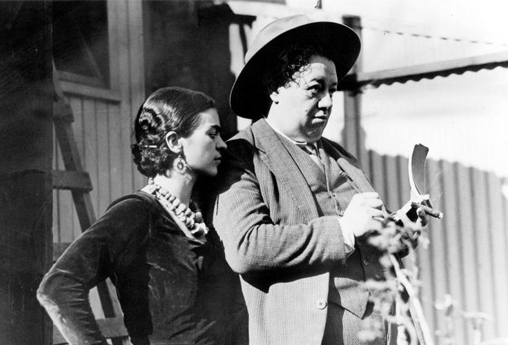 Diego Rivera (1886-1957) e Frida Kahlo (1907-1954)
