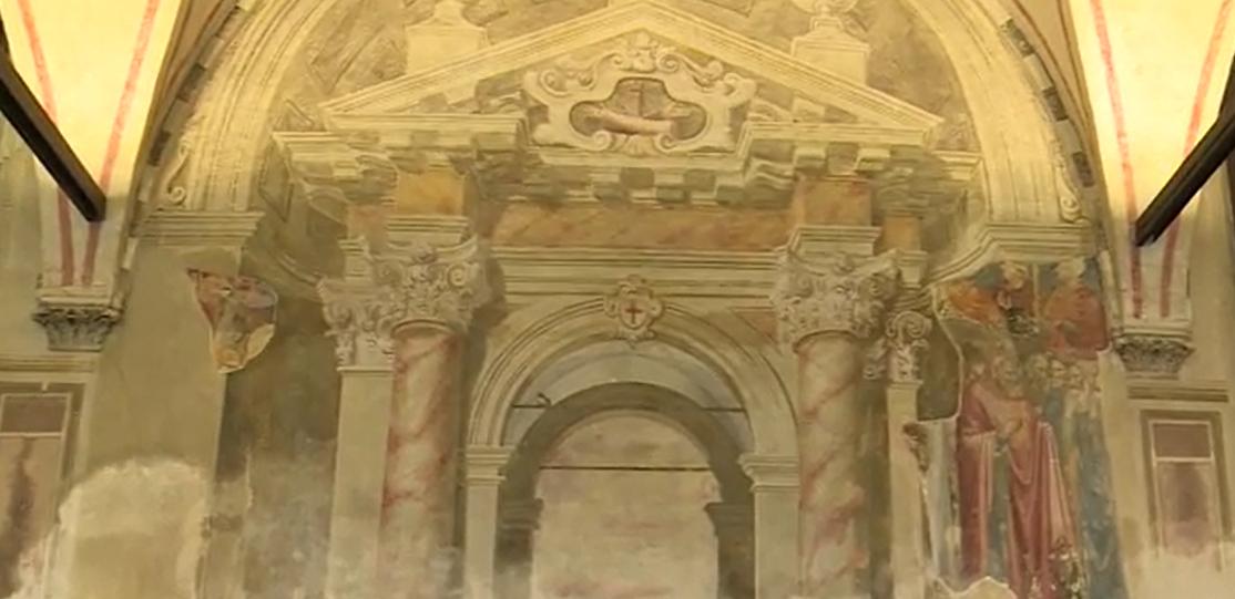 Sala del Capitolo nella Chiesa di Sant'Antonio da Padova