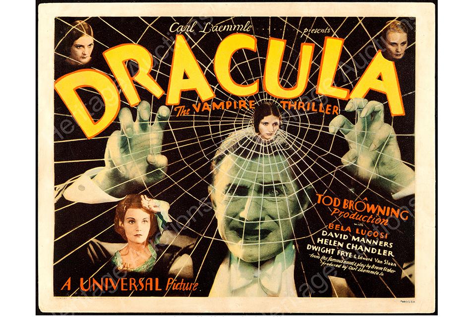 Vampiri da urlo. Poster di Dracula triplica la stima in asta