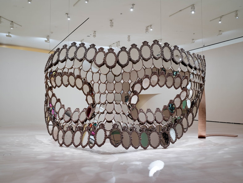 Joana Vasconcelos, I'll Be Your Mirror, 2018, Bronze and mirrors
