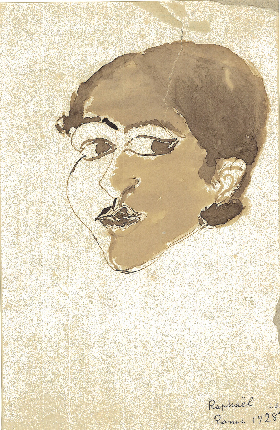 Antonietta Raphael, Autoritratto 1928