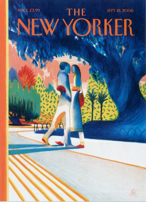 Prima volta in Italia. I pastelli originali realizzati da Lorenzo Mattotti per 32 copertine di The New Yorker