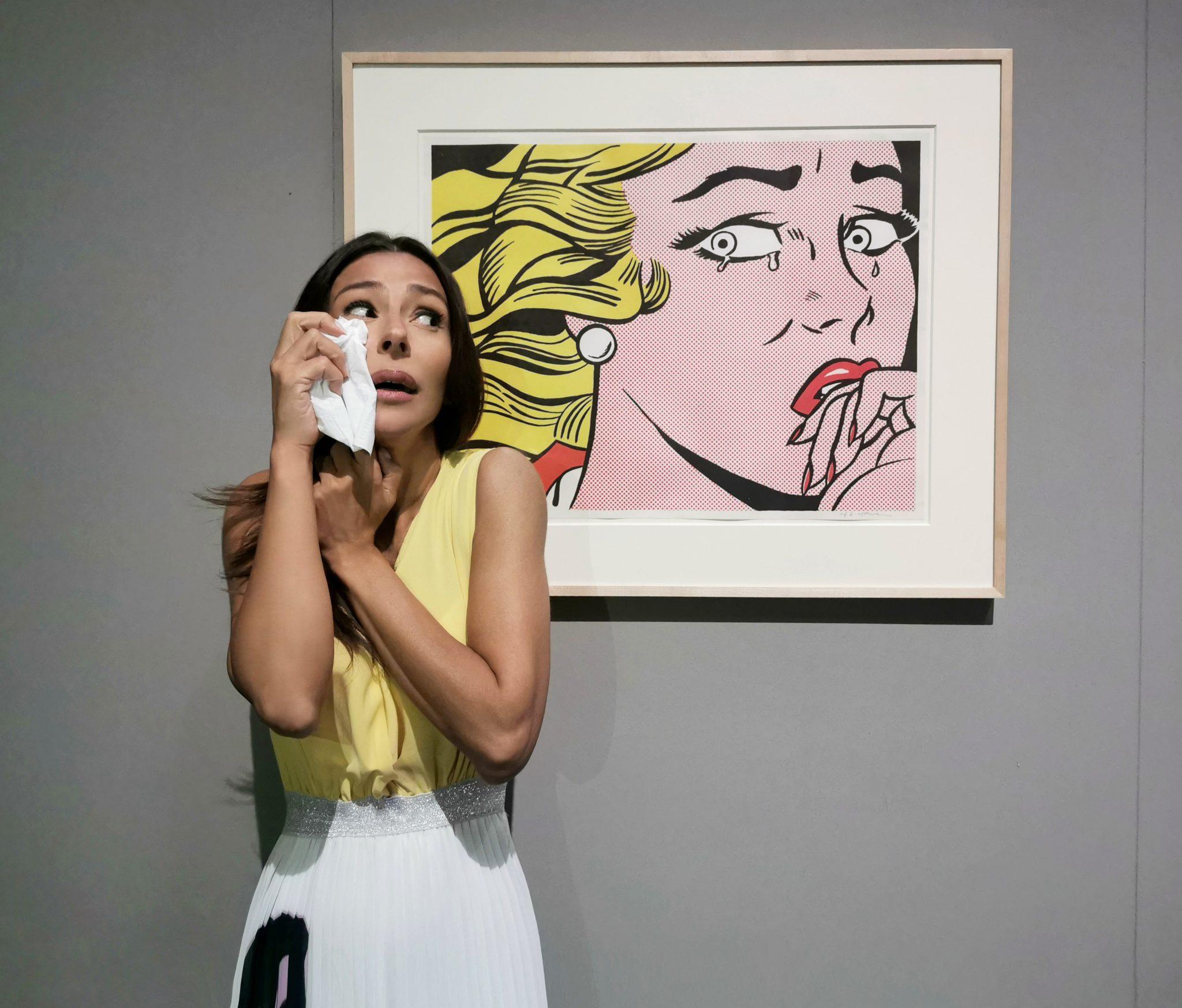 Selfie ad Arte. Roy Lichtenstein @ MUDEC Milano