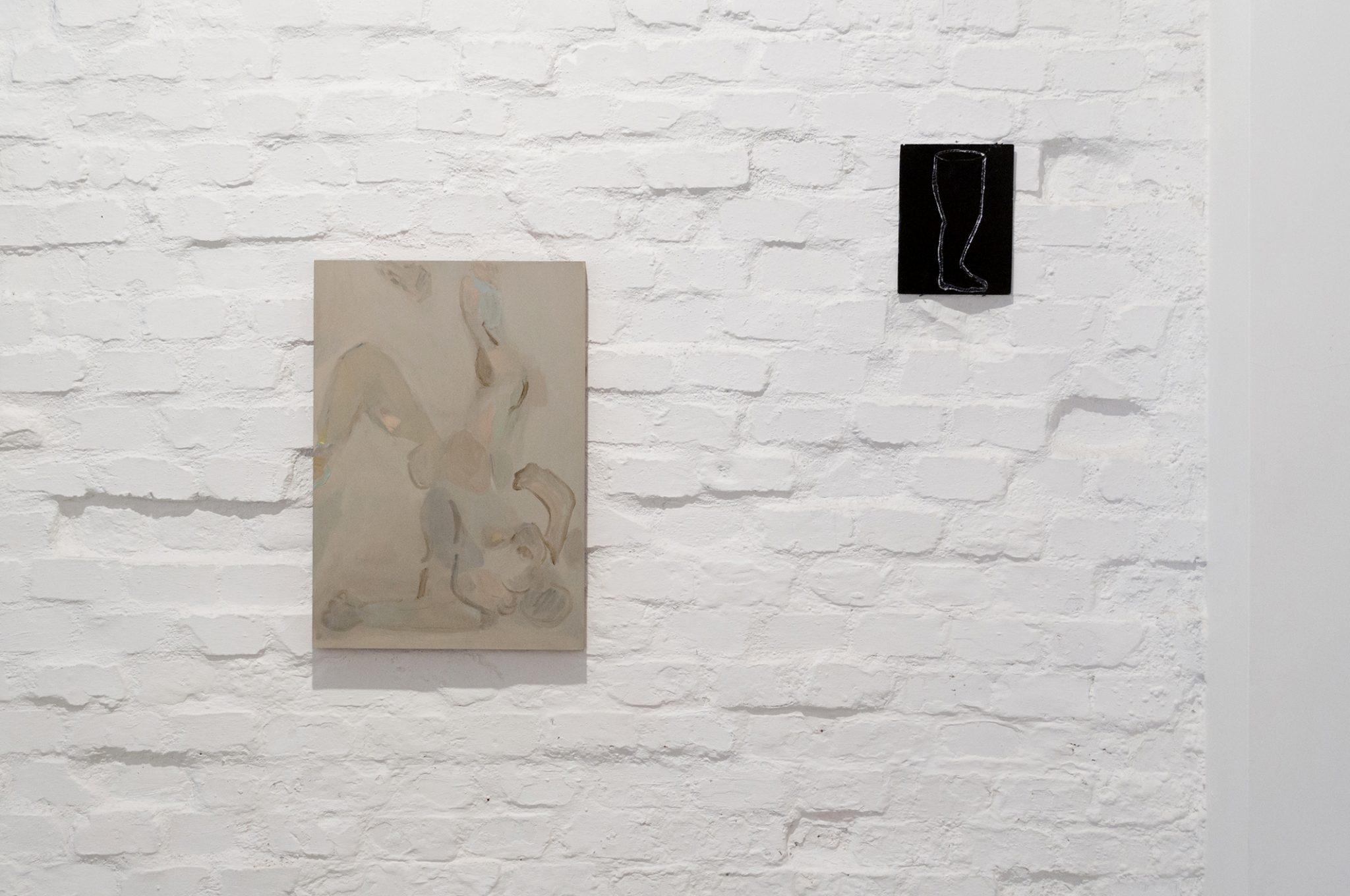 Panoramica mostra Tra un atto e l'altro di Beatrice Meoni, galleria Cardelli & Fontana