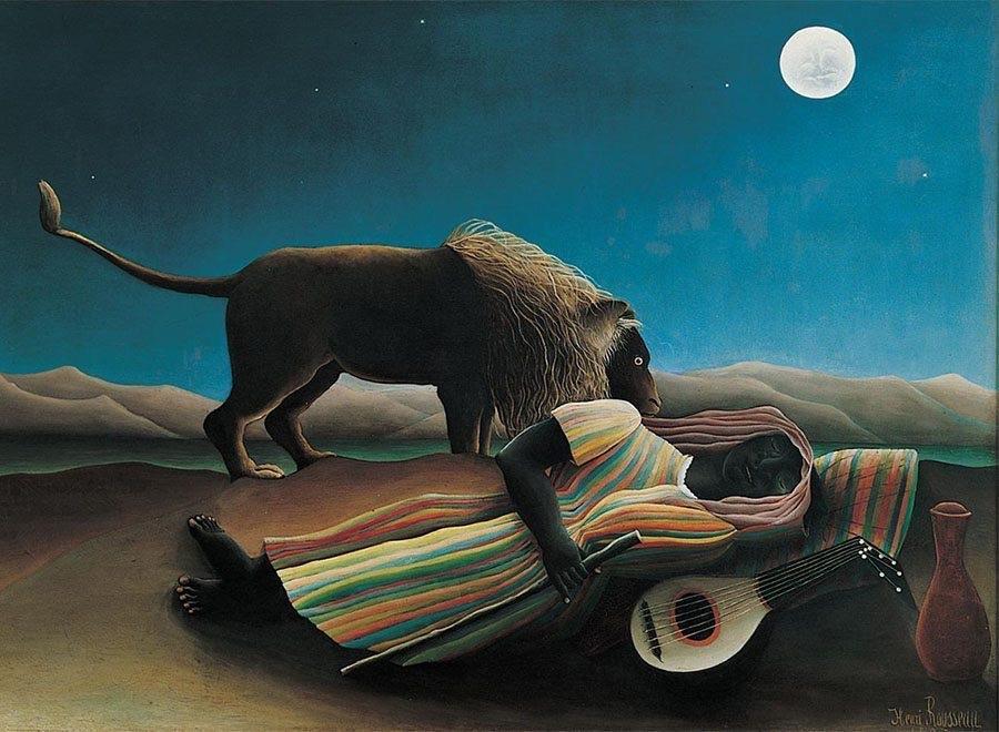 Il primo anello di congiunzione tra pittura e cinema? Le lune di Rousseau e Méliès