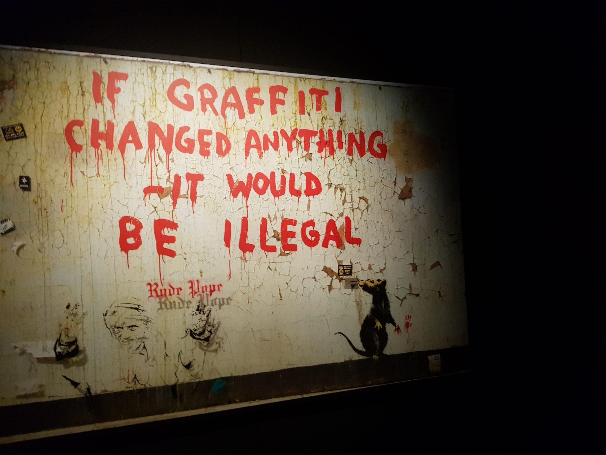 Un paradosso contemporaneo: il paradosso di Banksy, la mostra a Lisbona