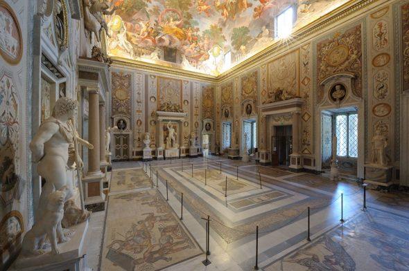 Salone di Mariano Rossi_Ministero per i beni e le attività culturali – Galleria Borghese