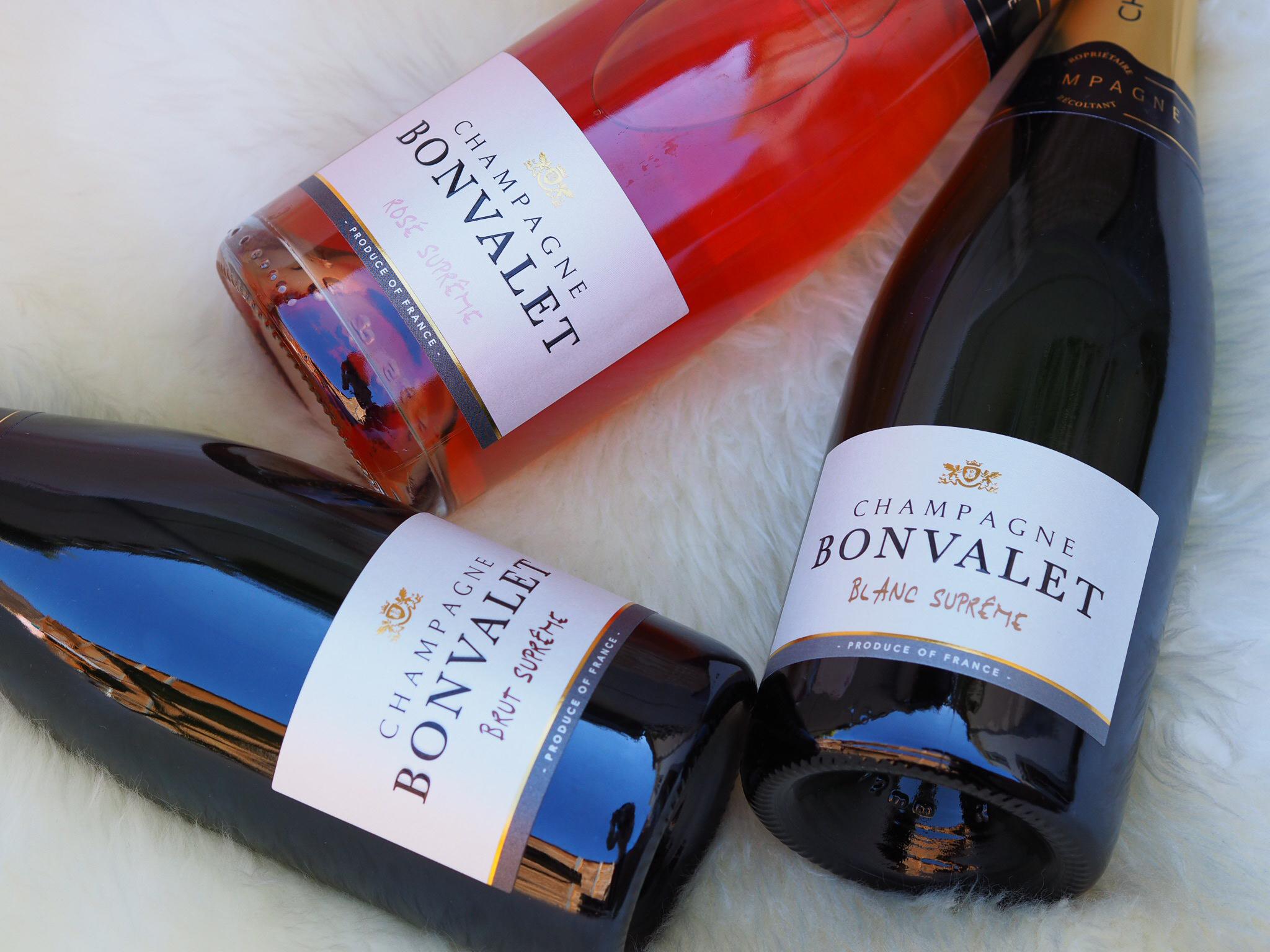 Lo Champagne Bonvalet da Terrazza 12 a Milano