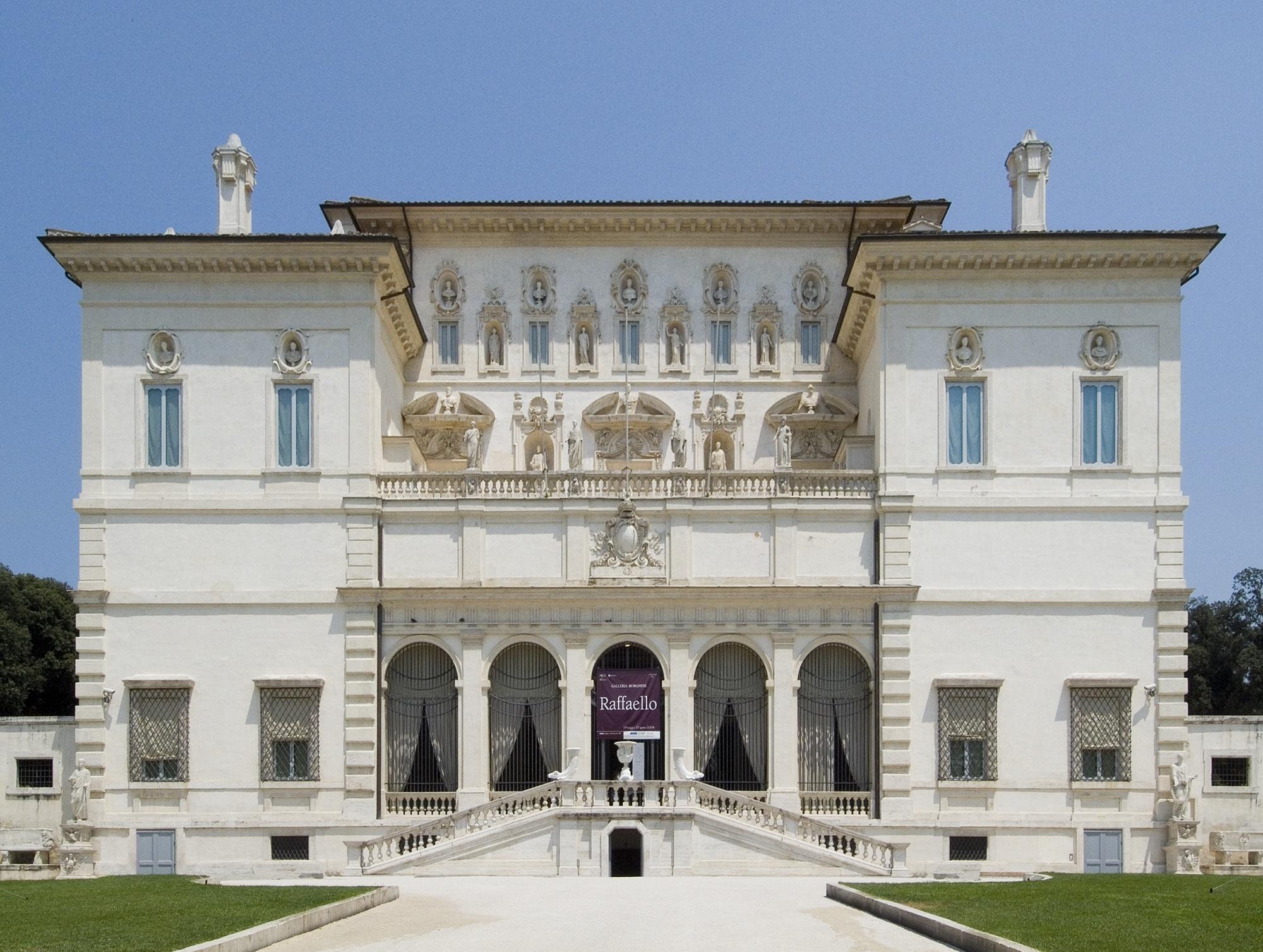 Galleria Borghese. Foto: F. Vinardi
