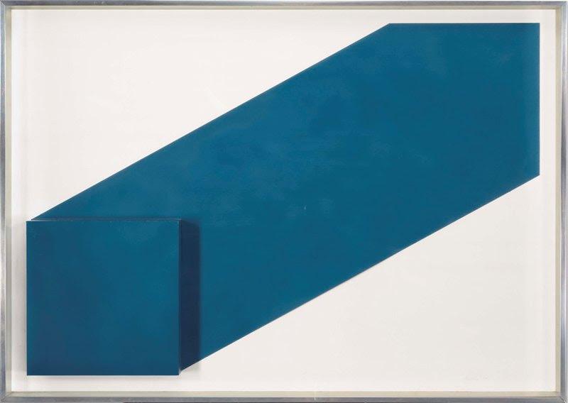 Rodolfo Aricò (1930-2002), Senza titolo, tecnica mista su cartoncino, 72 x 101.5 x 7 cm. Eseguito nel 1969 ca. © Archivio Rodolfo Aricò, Milano