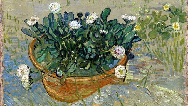 Collezione Mellon Palazzo Zabarella Padova 2019 Vincent van Gogh, Margherite, Arles, 1888