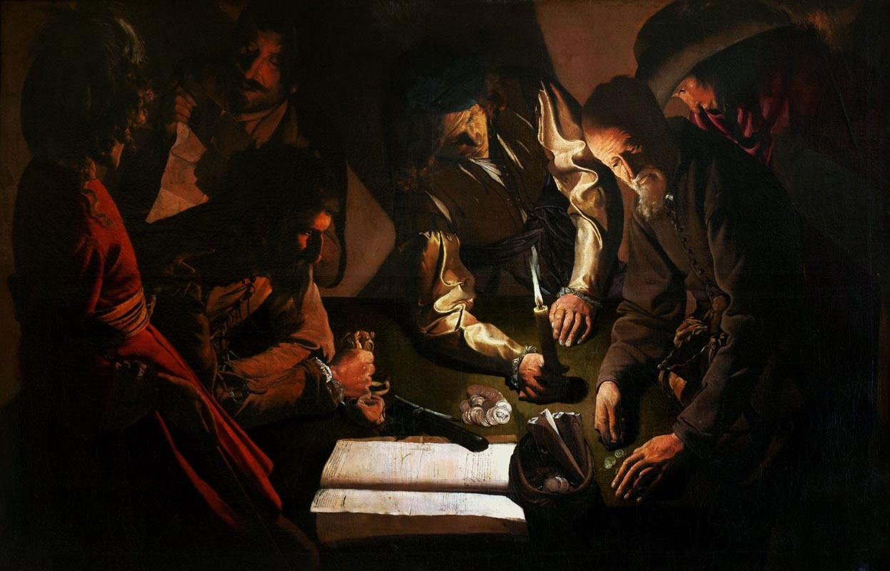 Georges de La Tour (studio) L'educazione della Vergine, 1650 ca. olio su tela 83.8 x 100.3 cm The Frick Collection New York U.S.A.