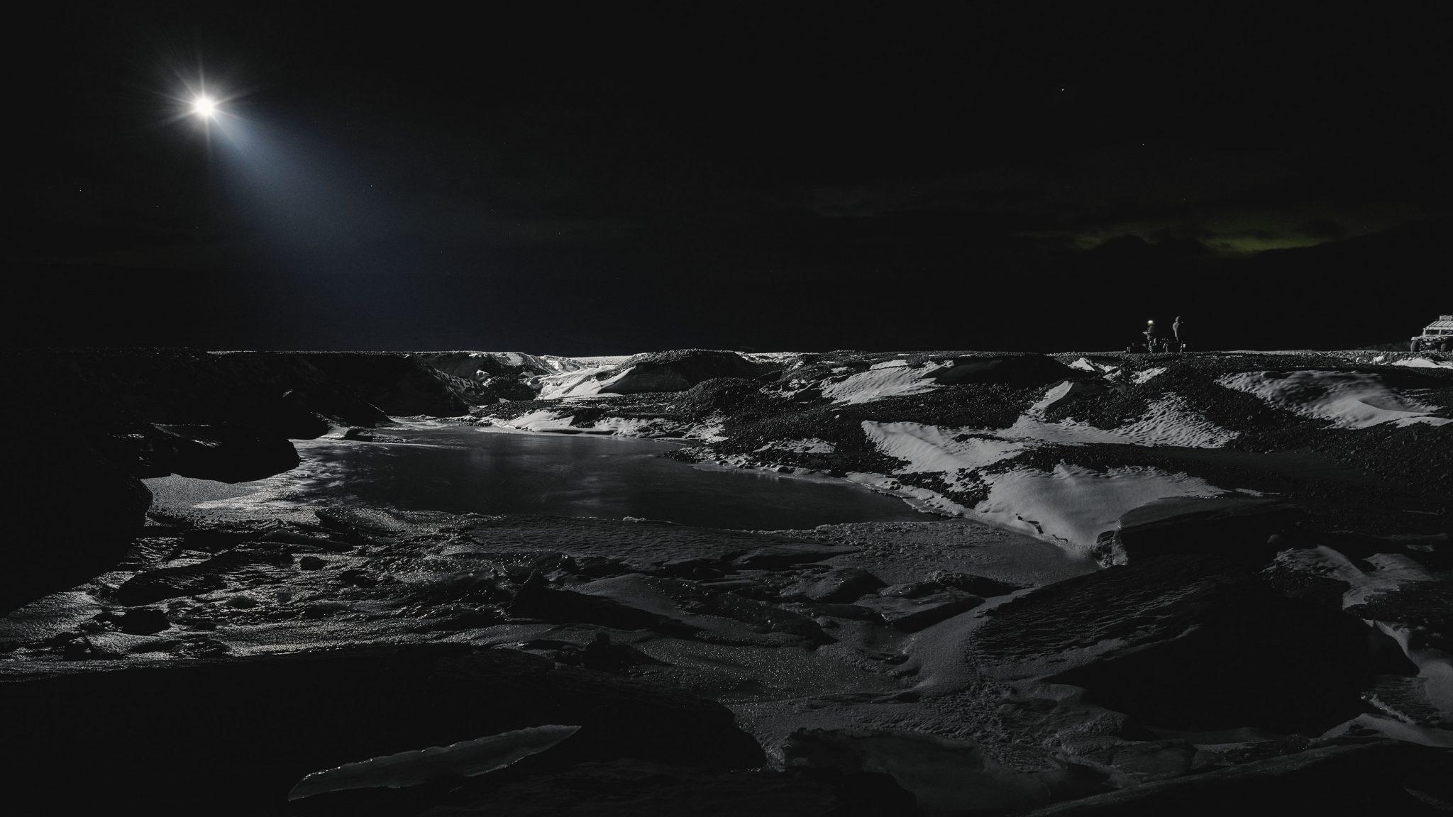 Julian Charrière, Towards No Earthly Pole, 2019, video