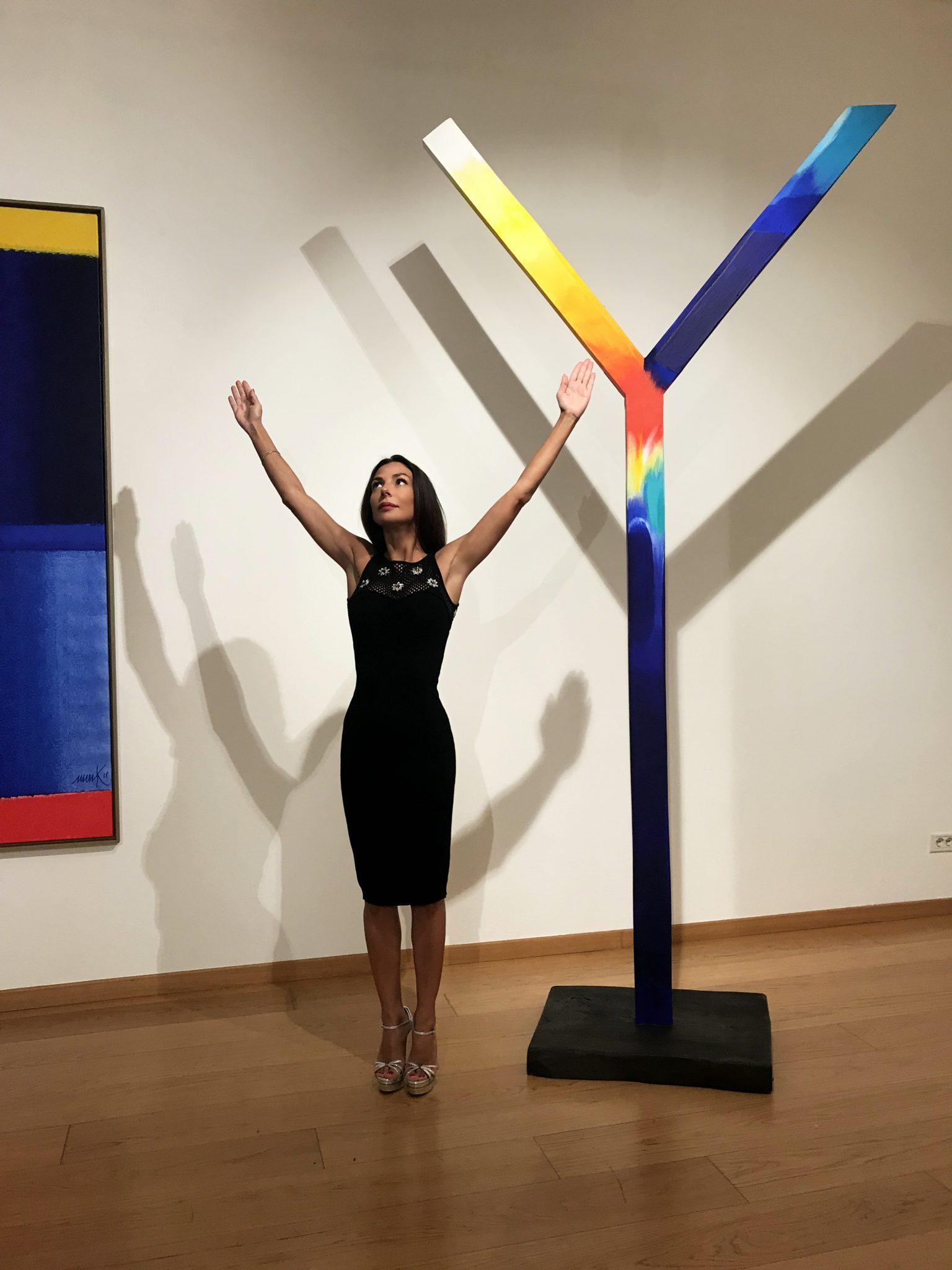 Selfie ad Arte. Heinz Marck @ Cortesi Gallery, Milano