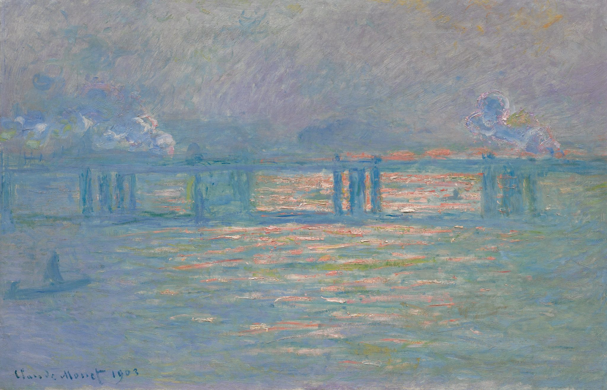 Impressionist and modern art sale Sotheby's New York novembre 2019, Claude Monet, Charing Cross Bridge, 1899-1901