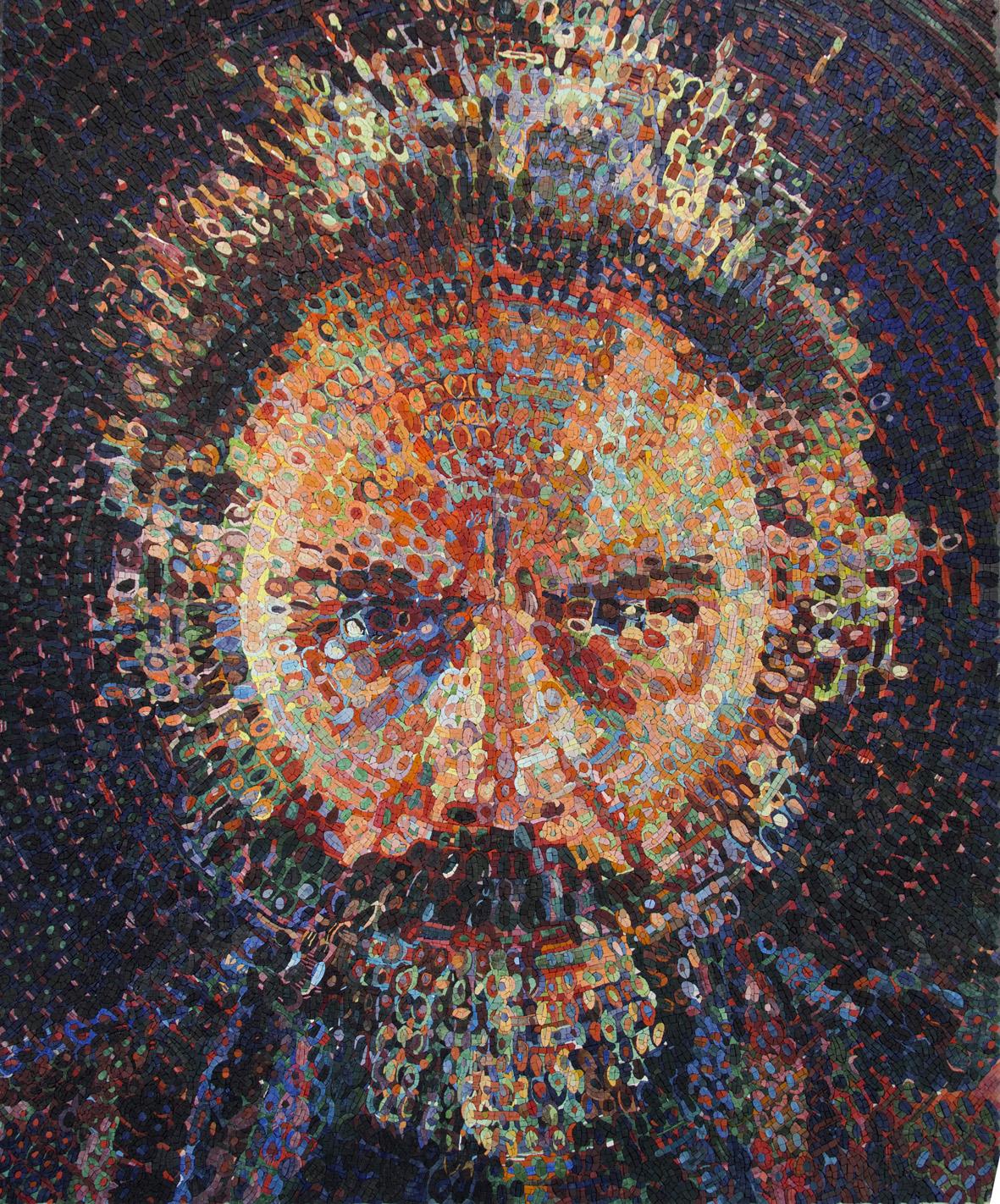 Chuck Close, anello di congiunzione tra fotografia e mosaico. Intervista a Daniele Torcellini