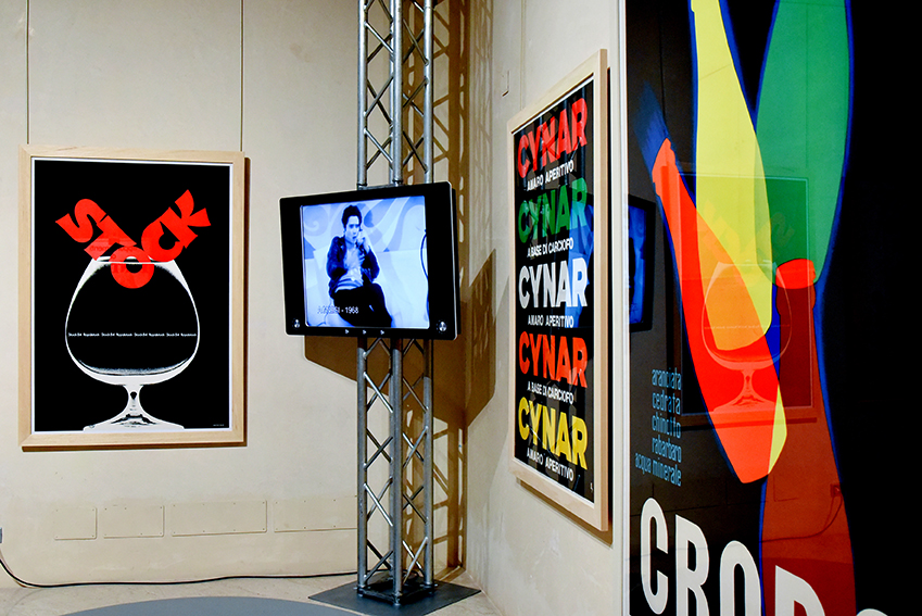 Panoramica mostra CAROSELLO. Pubblicità e televisione, Fondazione Magnani Rocca. Fotografie di Giovanni Amoretti