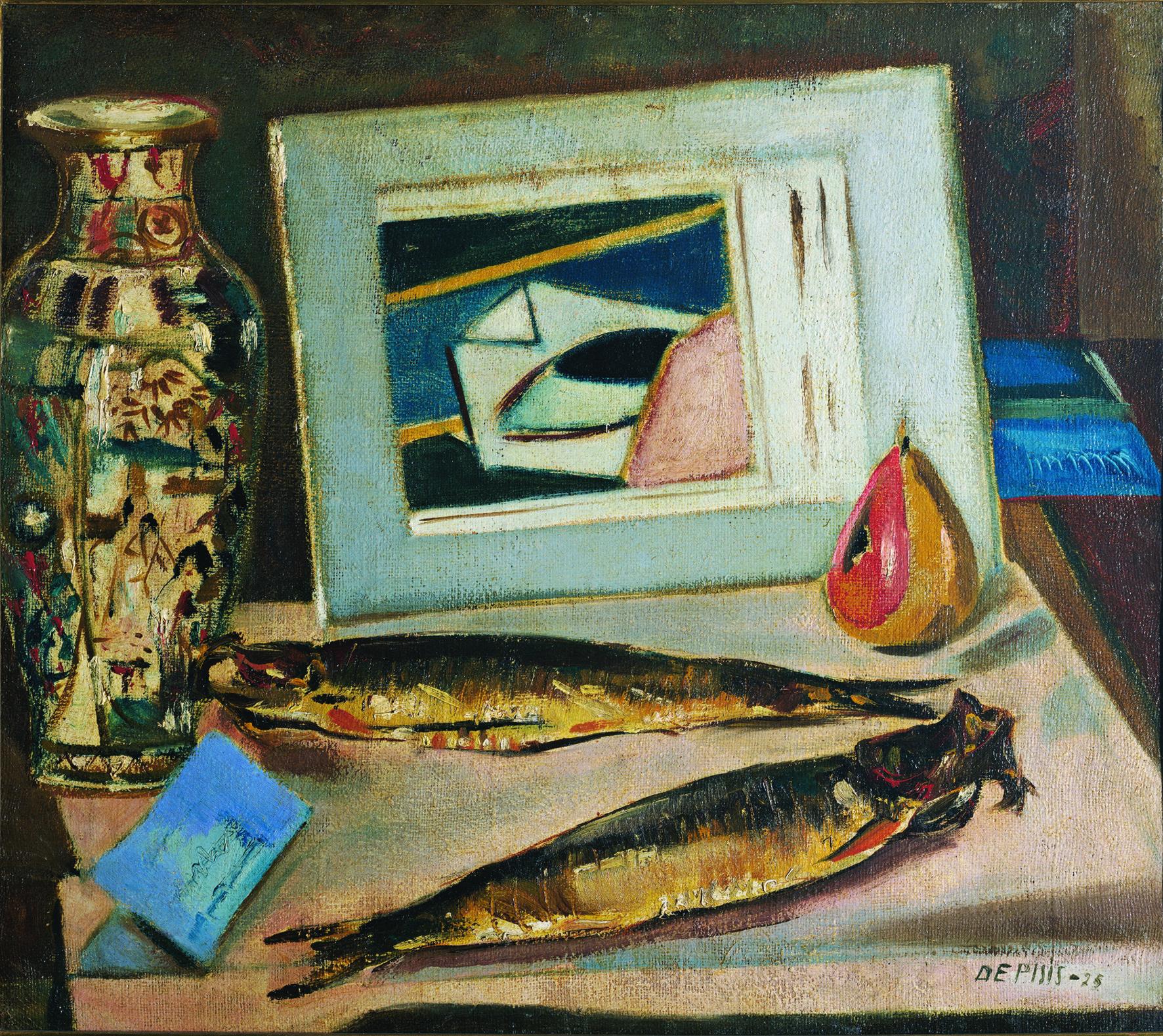 Filippo de Pisis, I pesci sacri