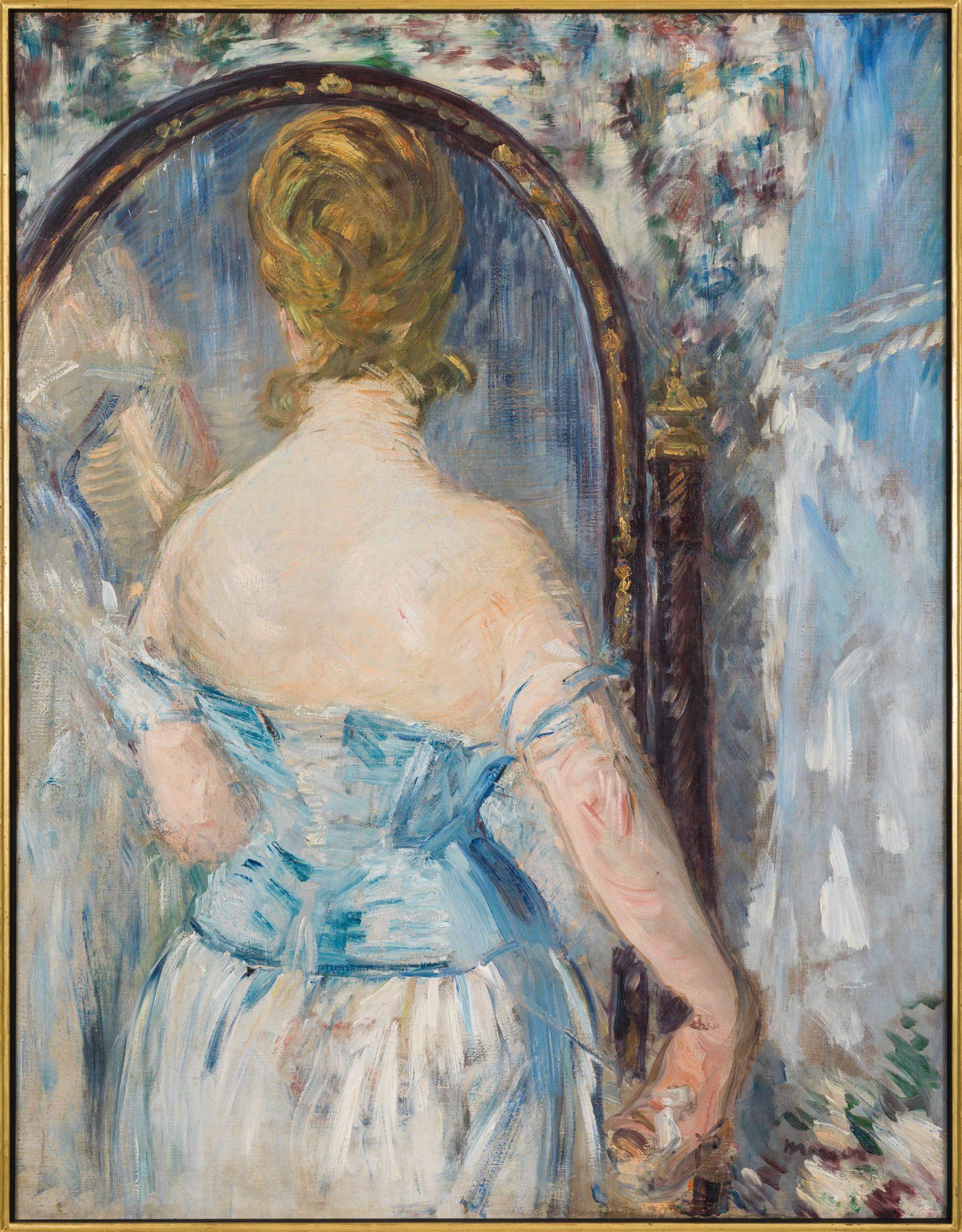 Eduard Manet, Davanti allo specchio