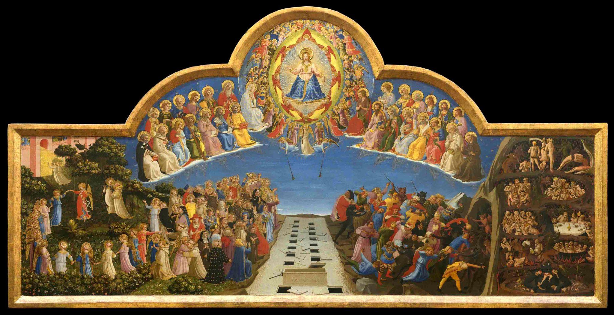 Beato Angelico, il Giudizio Universale dopo il restauro