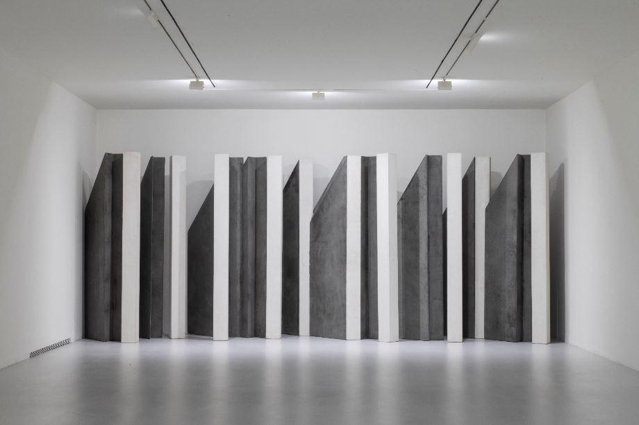 Giuseppe Uncini. La conquista dell'ombra. Installation view at Fondazione Marconi. Ph. Fabio Mantegna . Courtesy Fondazione Marcon