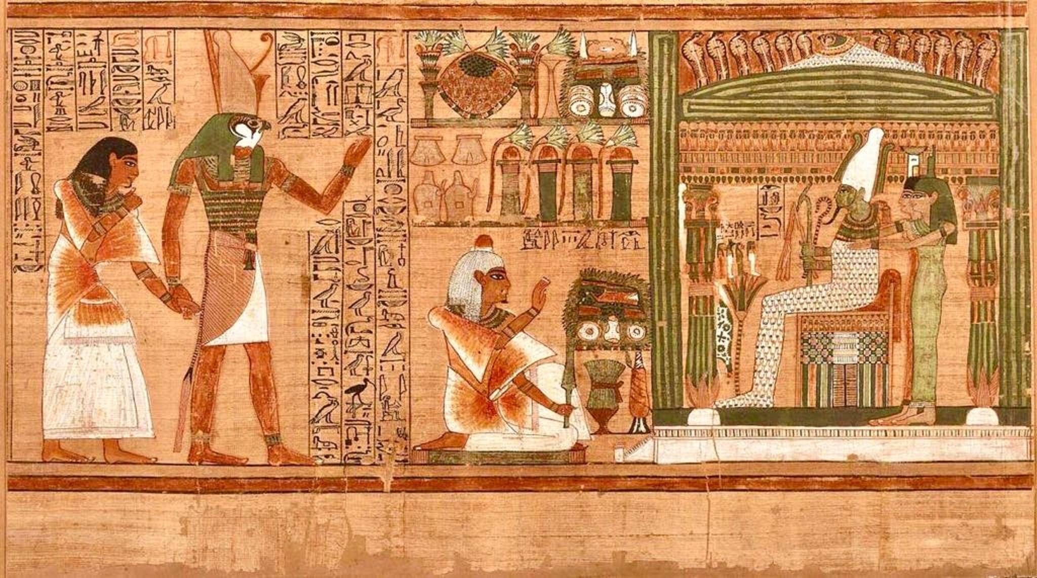 Il Libro dei due sentieri scoperto in Egitto