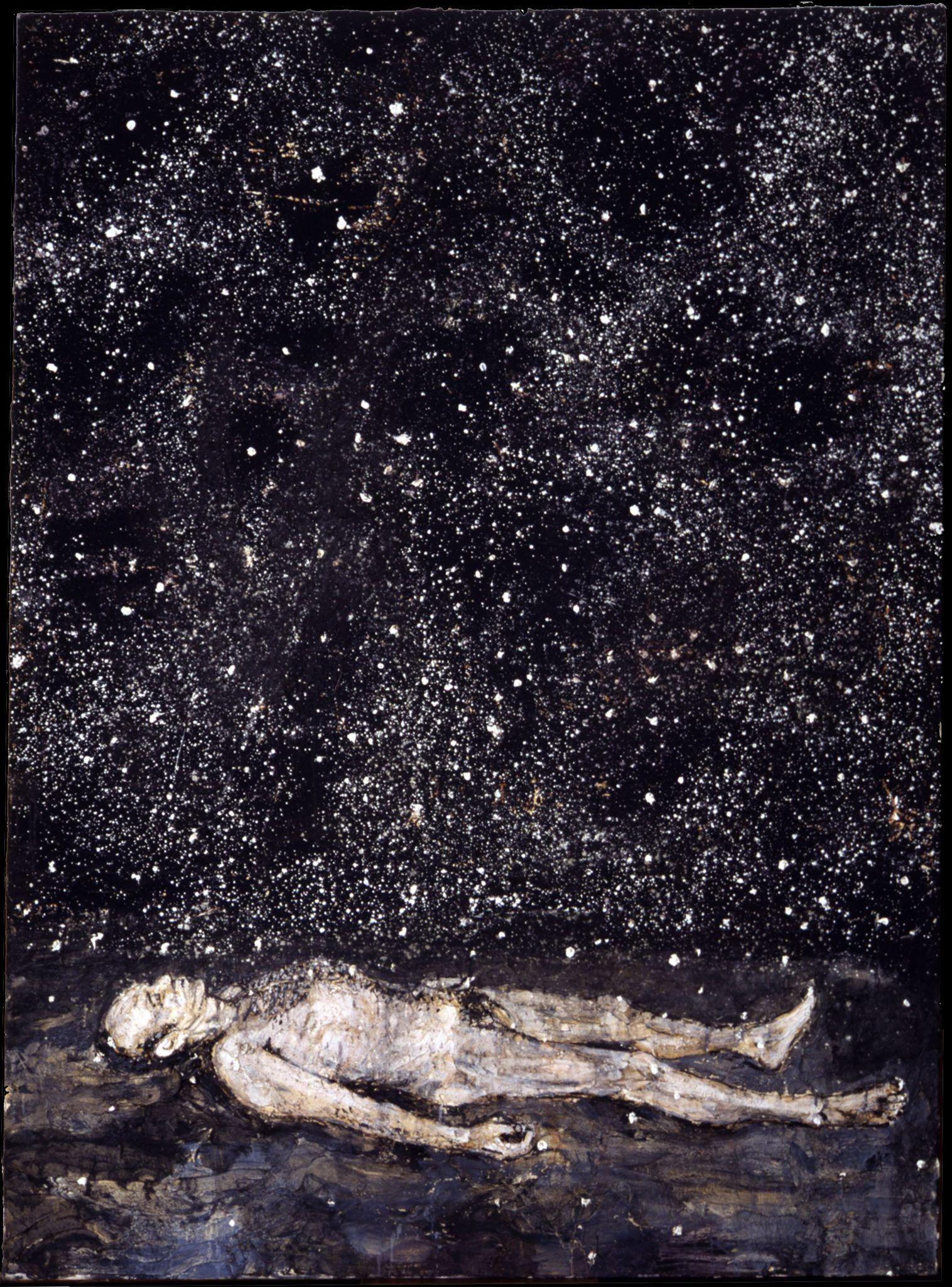 Anselm Kiefer, Untitled, 1995, acrilico su tela, Galleria Lia RummaAnselm Kiefer, Untitled, 1995, acrilico su tela, Galleria Lia Rumma