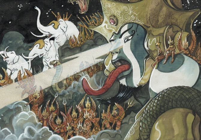 Il Mahabharata. La grande epopea indiana in graphic novel Jean-Claude Carrière, Jean-Marie Michaud