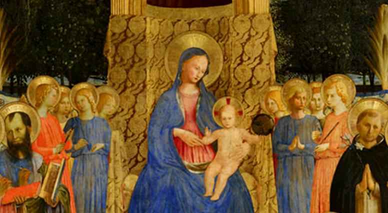 Particolare della Pala di San Marco del Beato Angelico