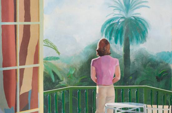 """Tenerezza e nostalgia. """"Sur La Terrasse"""" di David Hockney star da Christie's a 25-45 milioni"""