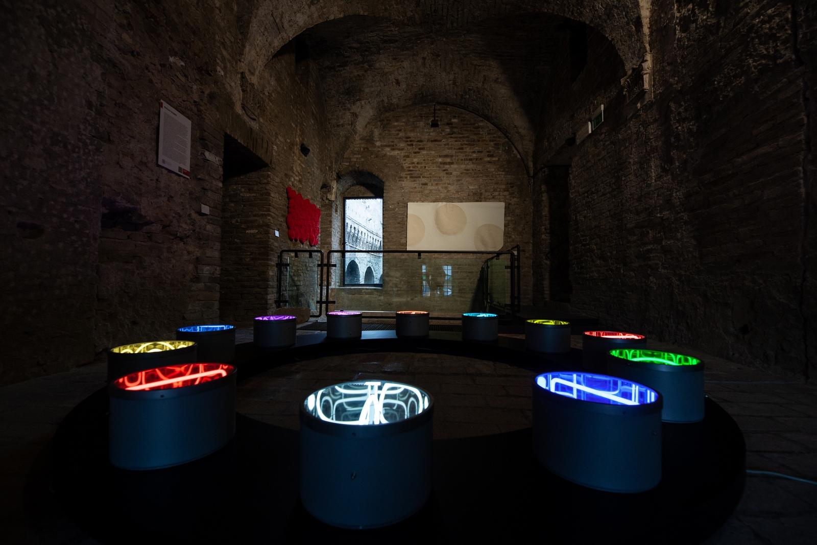 Veduta della mostra Materie Prime, foto Alberto Polonara #2