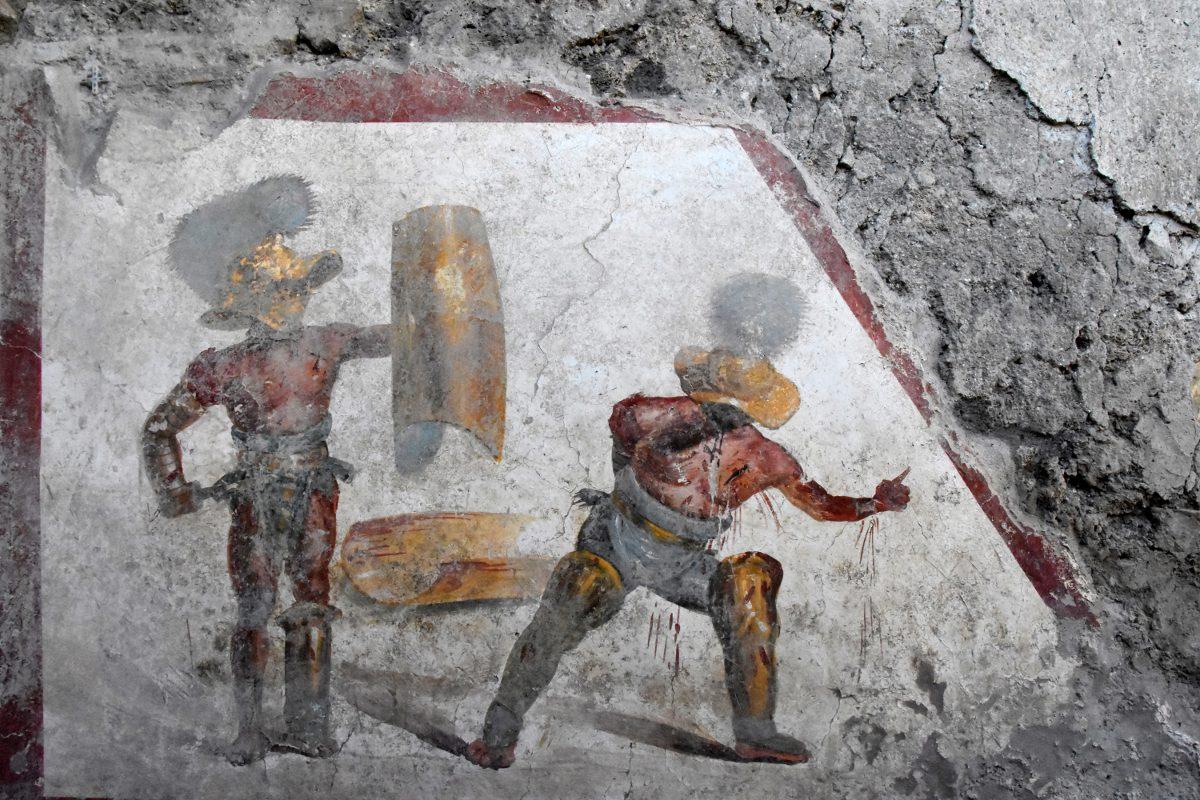 Incredibile Pompei! Dagli scavi emergono i Gladiatori! 'Una scoperta senza precedenti'