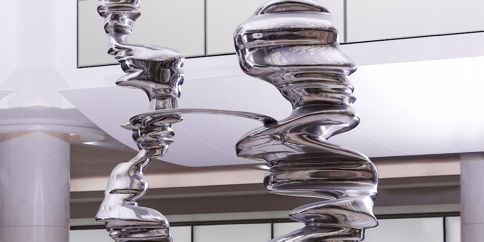 "Tony Cragg: nuovo record in asta da Bonhams con ""Constant Change"" a £849.063."