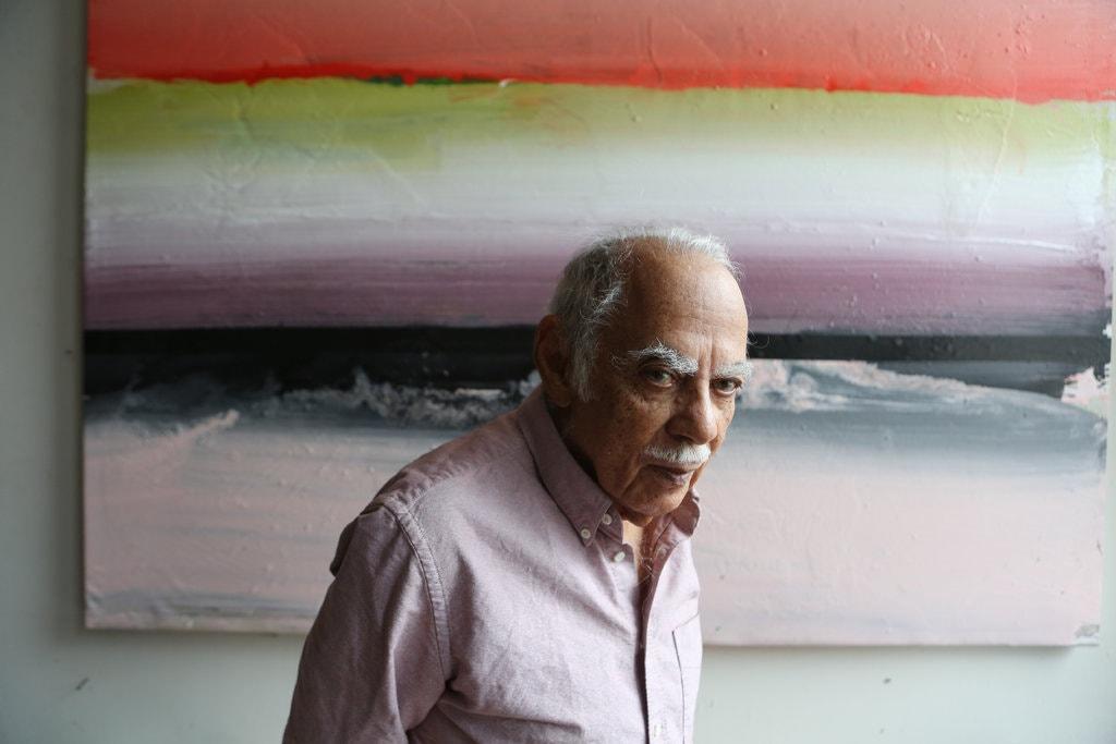 A 93 anni ci lascia il grande Ed Clark. Orgoglio afroamericano e gestualità incontenibile, è stato pioniere dell'espressionismo astratto