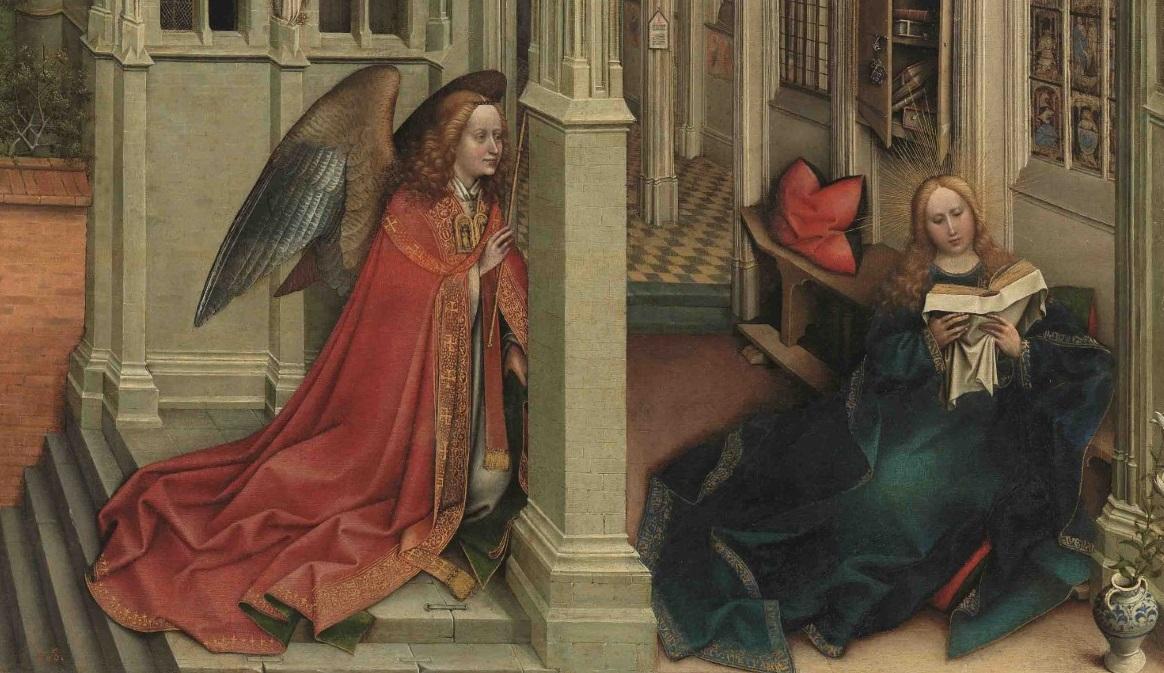 Dal Prado. L'Annunciazione capolavoro di Robert Campin arriva al Museo San Marco di Firenze