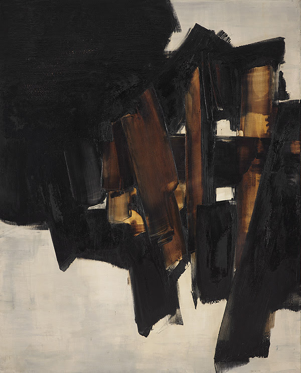 L'inaspettata luminosità di Pierre Soulages in asta a Parigi