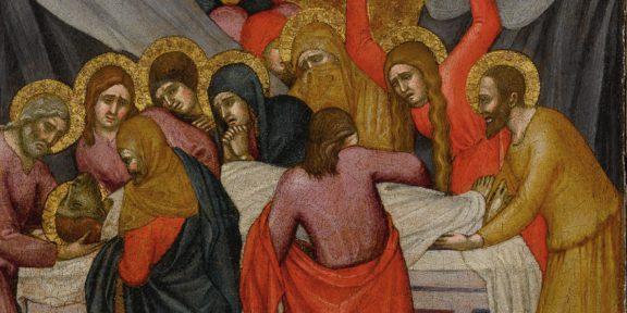 Fabrizio Moretti x Fabrizio Moretti | In Passing Sotheby's New York Taddeo di Bartolo, Deposizione, stimato 60,000 - 80,000 USD