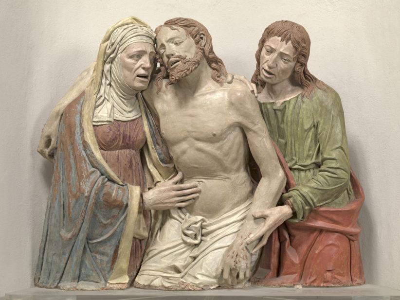 Pietà, Andrea Riccio