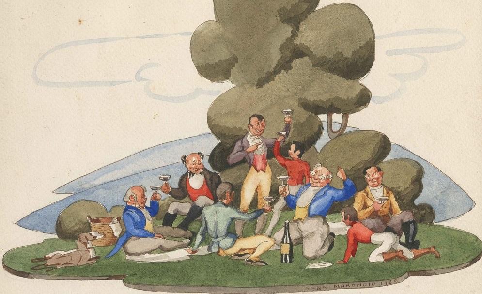 Anna Marongiu, llustrazioni per Il Circolo Pickwick di Charles Dickens