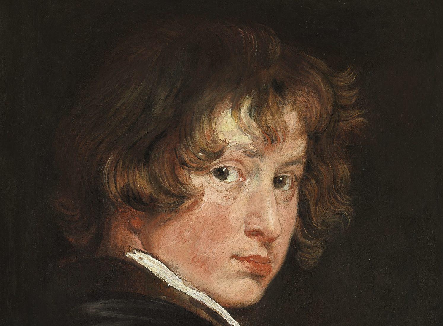 Antoon van Dyck, Autoritratto, 1615. © Gemäldegalerie der Akademie der bildenden Künste, Wien