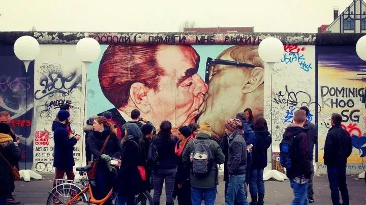 Arte sul muro di Berlino