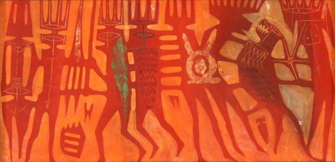 Corrado Cagli Frittelli 2019 Paura del Totem, 1954
