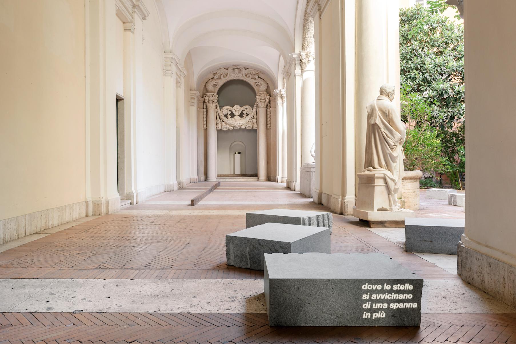 Giovanni Anselmo. Entrare nell'opera, Accademia Nazionale di San Luca (foto Andrea Veneri)
